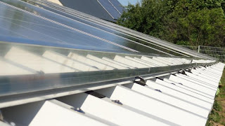 Rails for Solar Panels