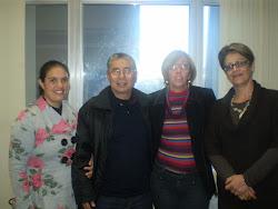 Representantes  da AEPPA em agenda com a Secretário de Educação do RS.