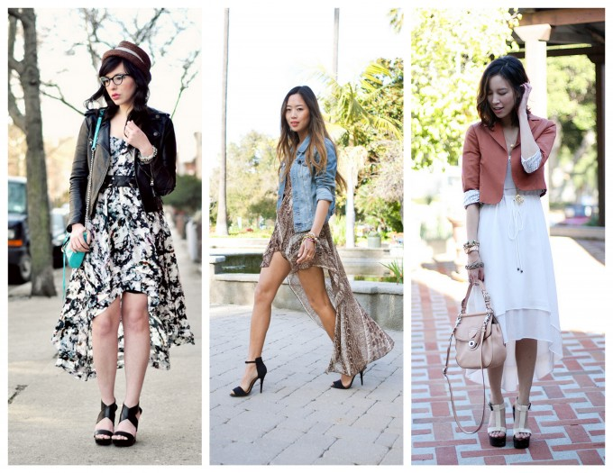 Short High-low dresses