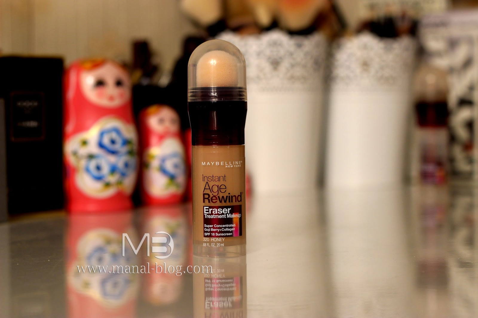مدونة منال: Maybelline Instant Age Rewind Eraser Treatment Makeup
