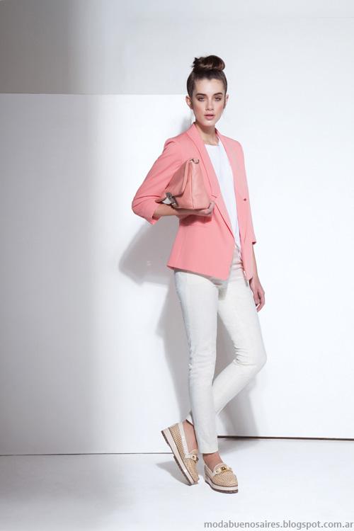 Carmela Achaval primavera verano 2014 blazers.