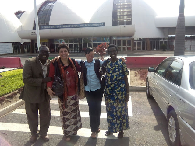 llegada a Burundi
