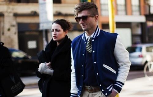 Varsity jacket masculina