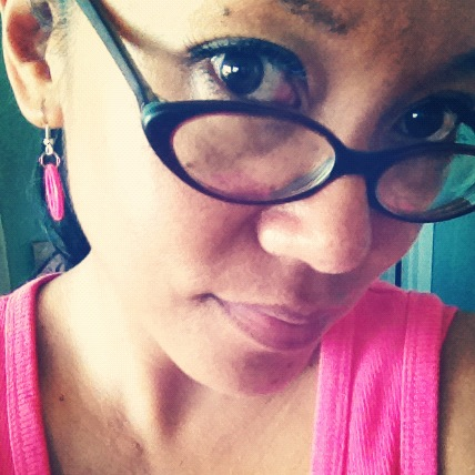 Me Wearing Glasses