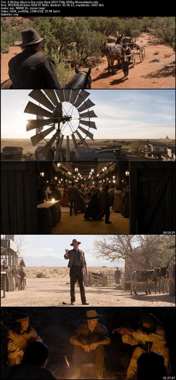 A Million Ways to Die in the West (2014) 720p HDRip