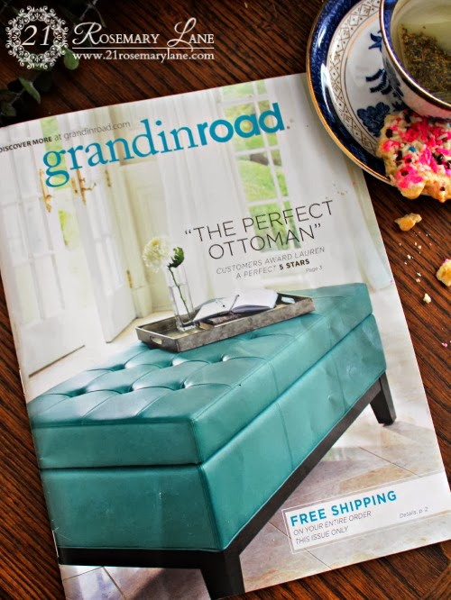 the other day i pulled my mail of out of the mailbox to find this catalog from grandinroad now i have never heard of the company before and how i ended up - Grandin Road Catalog