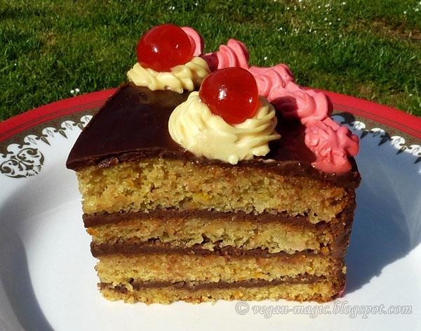 ... Orange Cake with Chocolate Ganache « Vegan Recipes « Vegan Magic
