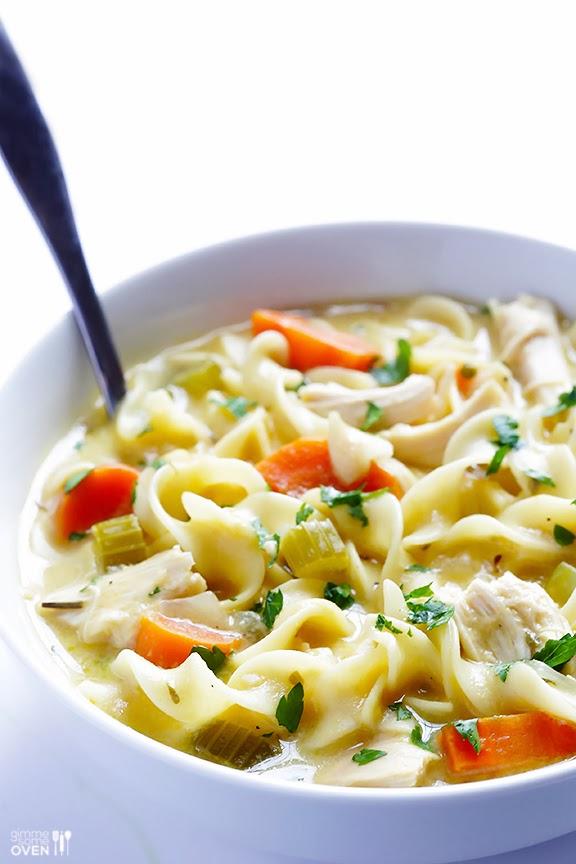 Life Fad: Healthy Creamy Homemade Chicken Noodle Soup