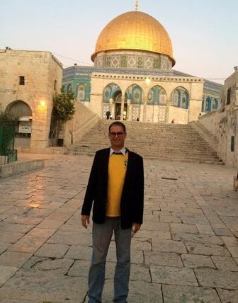 Jihad Abu Ali, Presidente da Sociedade àrabe Palestina de Foz