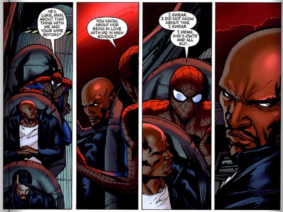 Spider-Man and Luke Cage