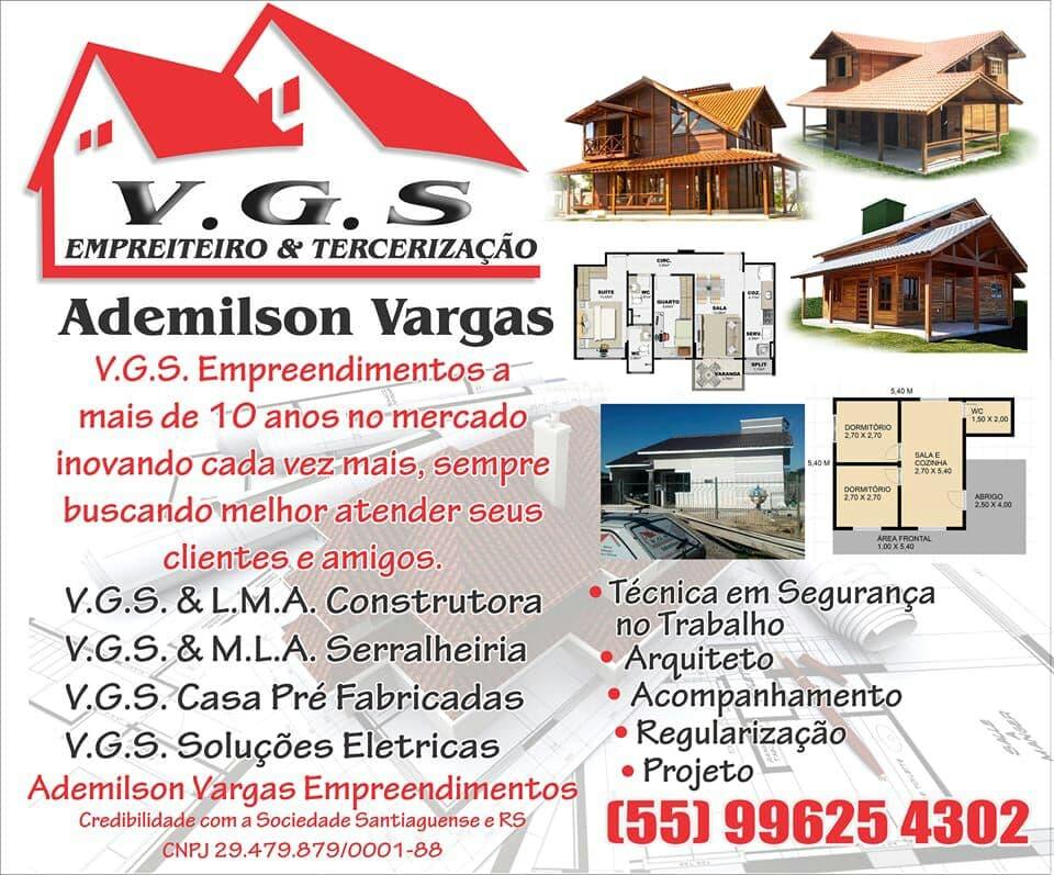 V.G.S EMPREITEIRO & TERCERIZAÇÃO