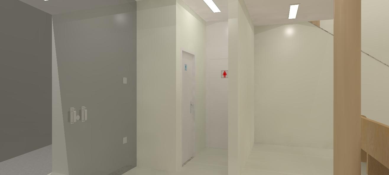 Banheiro masculino e feminino de igreja -> Dilma Banheiro Feminino