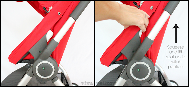 Stokke Scoot Seat Position