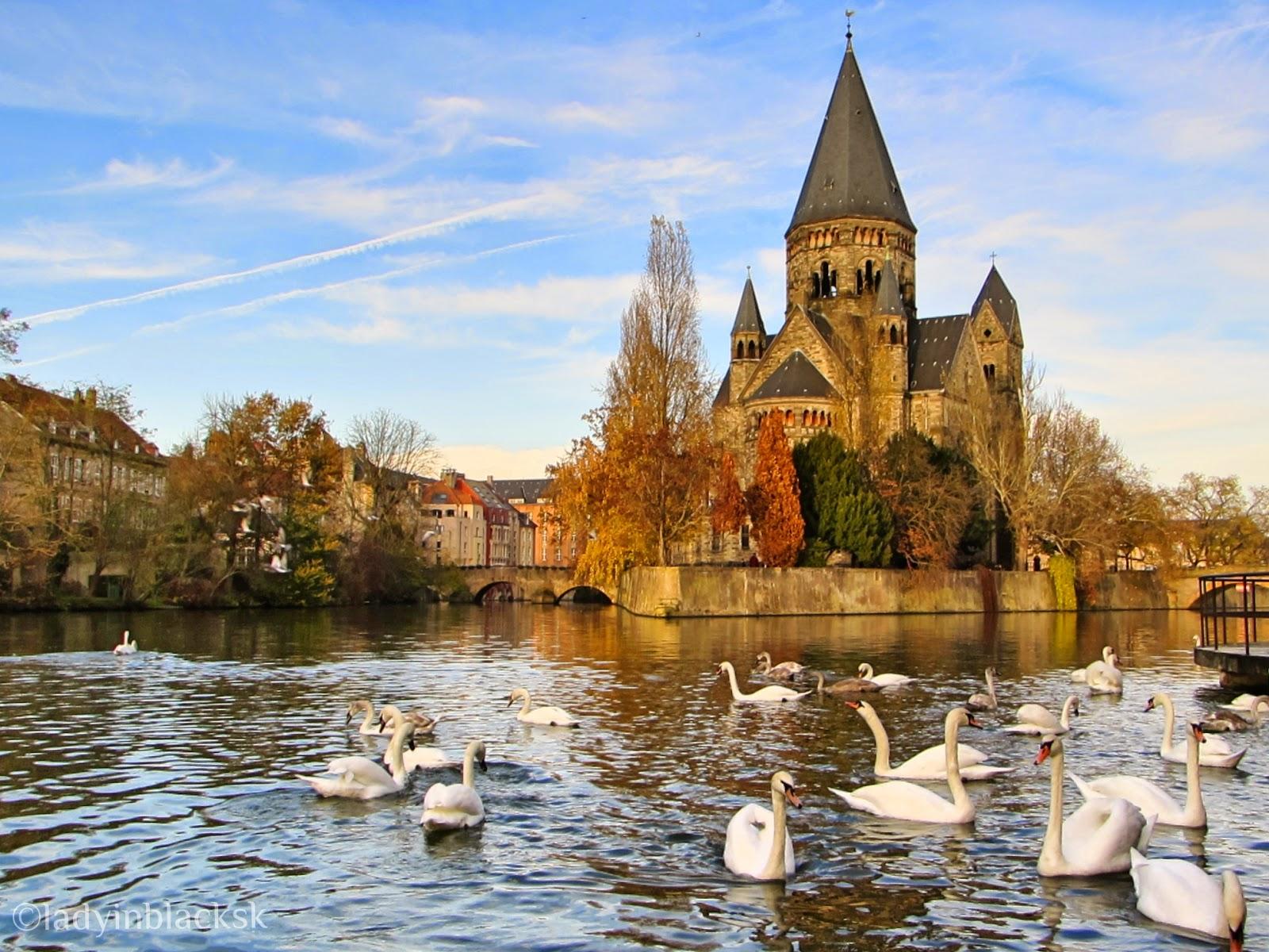 Graceful Metz, France