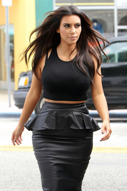 top cropped kim kardashian