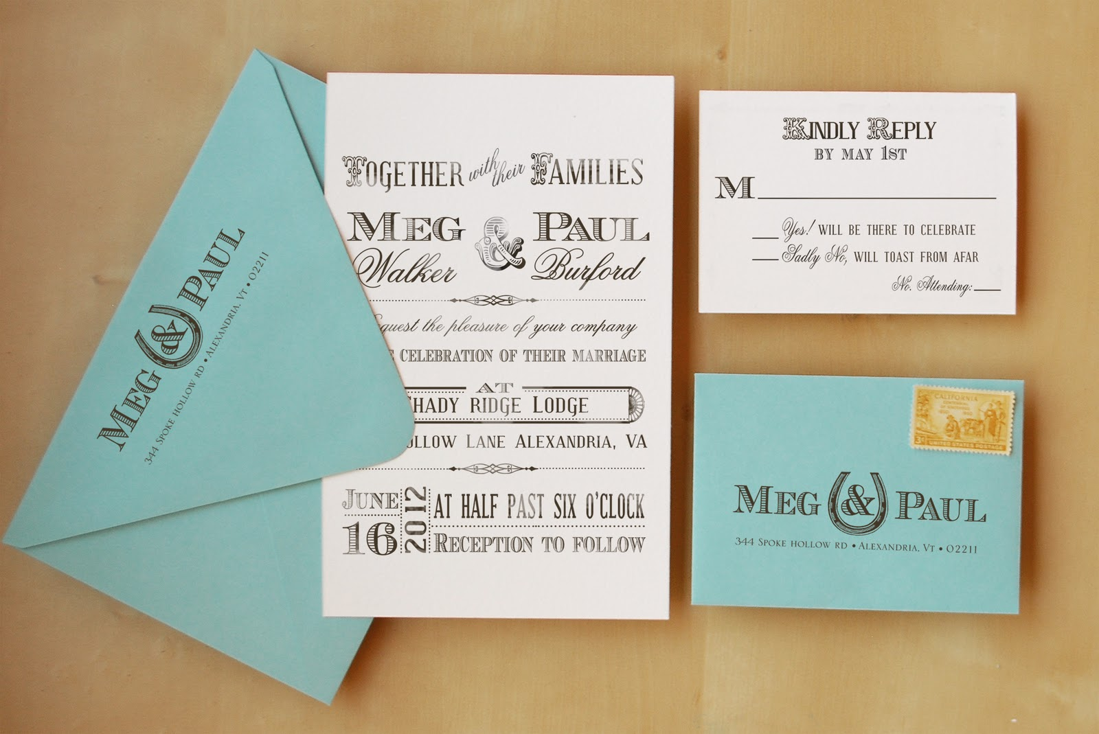 Antiquaria: Introducing Wedding Invitation Rubber Stamps!