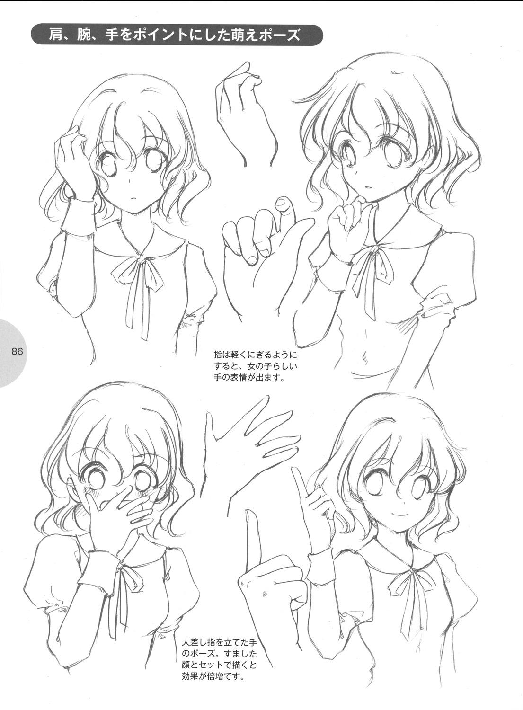 Como desenhar mang como desenhar moe for Tipos de manga japones