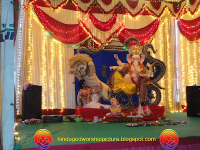 Pictures Ganesh - Ganesh Chaturthi Festival Surat City -2011