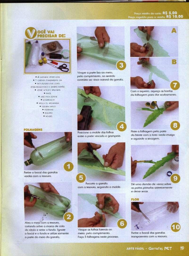 Инструкция поделок из пластиковых бутылок своими руками 164