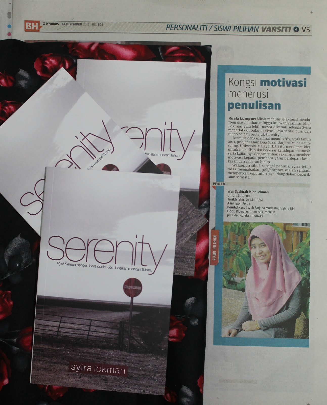 SERENITY Siswi Pilihan BH 2016