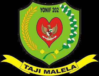 Logo Yonif 202 Taji Malela