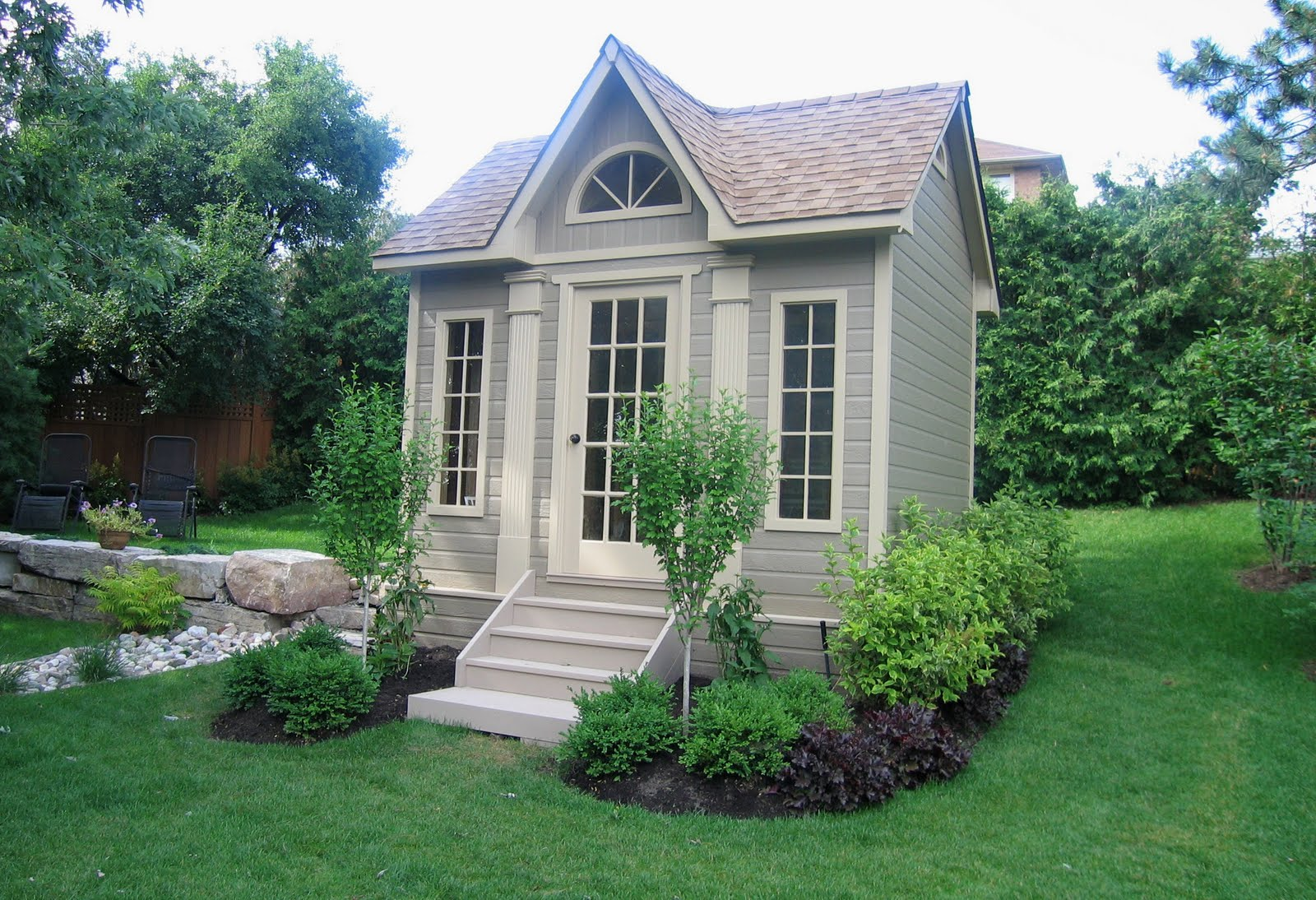 Taming Rugged Acres Dreaming Of A Garden Shed