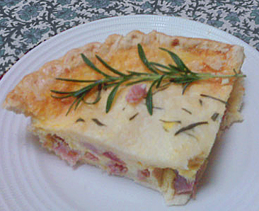 Low-fat Ham & Cheese Quiche Recipe