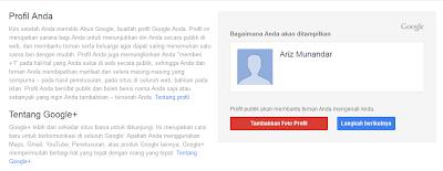 Profil Gmail