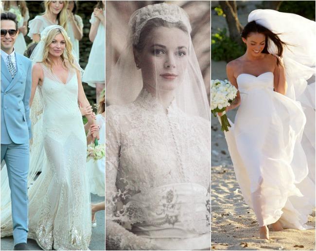 Marie a la Mode: My Favorite Celeb Wedding Dresses