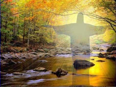 Une lumière à redécouvrir/4<>5/ Jesus+silhouette+lumiere