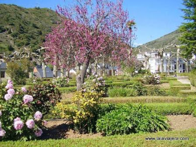 Jardines Alameda Villafranca Bierzo Leon