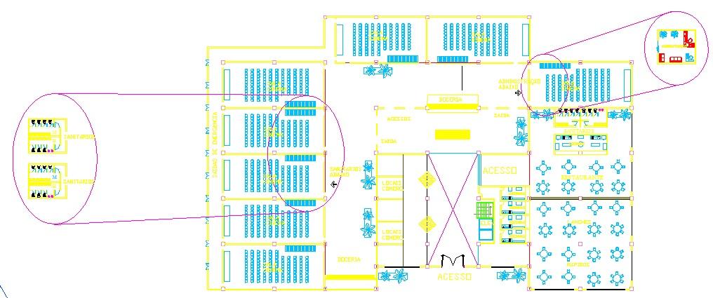 Descargar planos en autocad dwg cine salas en dwg for Planos arquitectonicos de un oxxo