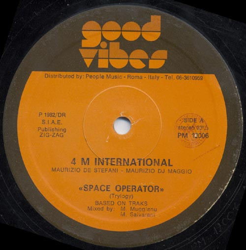4 M International - Space Operator (Maxi Rare '84)
