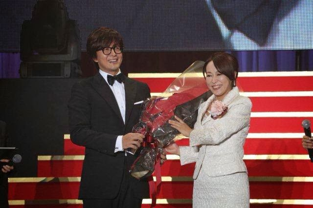Bae Yong Joon on stage