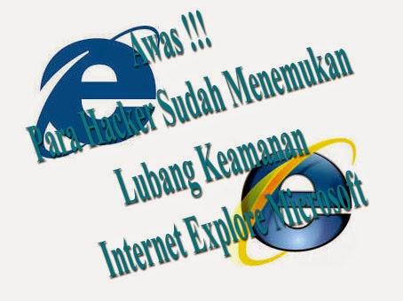 Bobolnya Pada Lubang Keamanan Internet Explore