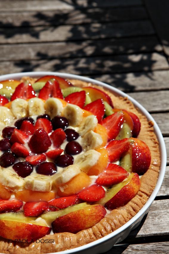 Il posto delle briciole una crostata di frutta che fa - Frutta che fa andare in bagno ...