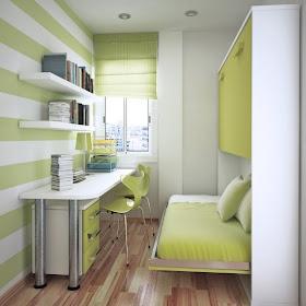 Dormitorios con estilo dormitorio juvenil para espacios - Dormitorio juvenil pequeno ...