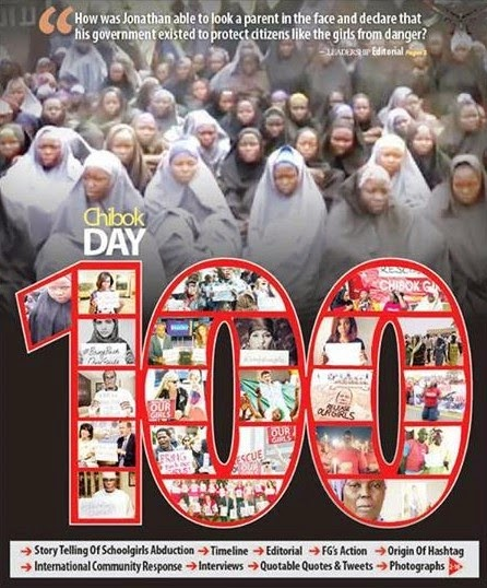 CHIBOK GIRLS 100 DAYS