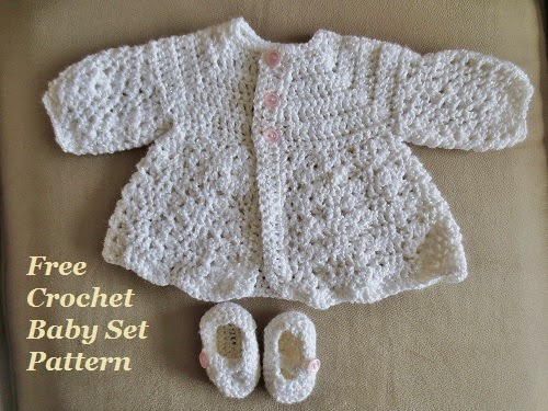 Easy Crochet Baby Sweater Pattern Free : Poor and Gluten Free (with Oral Allergy Syndrome): Easy ...