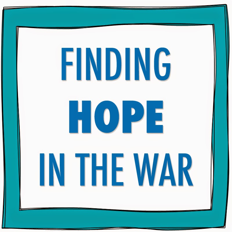 Finding hope in the war