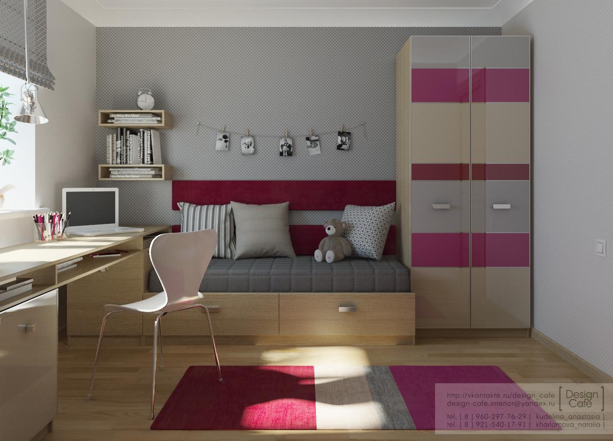 Дизайн для комнаты девочки 11 лет