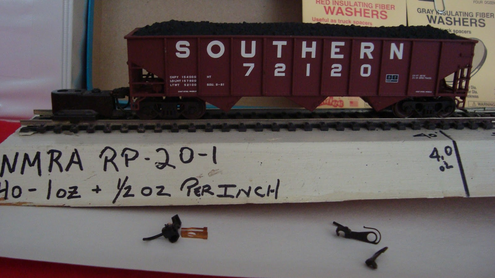 Please Teach Me About Couplers Model Railroader Magazine Railroad Electronic Circuit Lists Kadee Fiber Washers Are Indispensable If You Working On Your Ho Trains