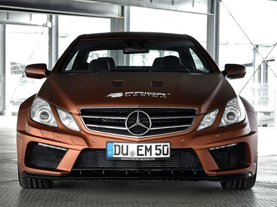 Mercedes-Benz E-Class Coupe PD850