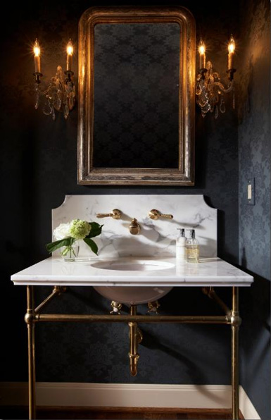 Perfect See my top wall sconce picks at the end of this post What type of lighting do you prefer in a powder or guest bath