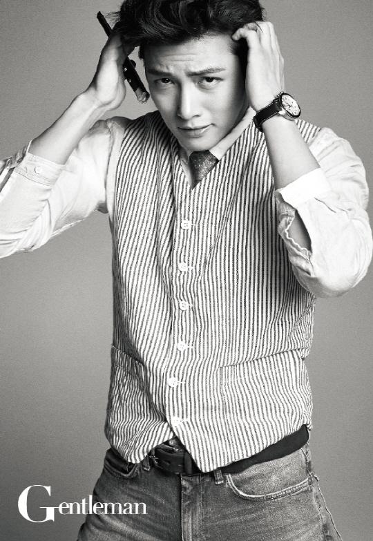 Ji Chang Wook Gentleman Magazine June 2014