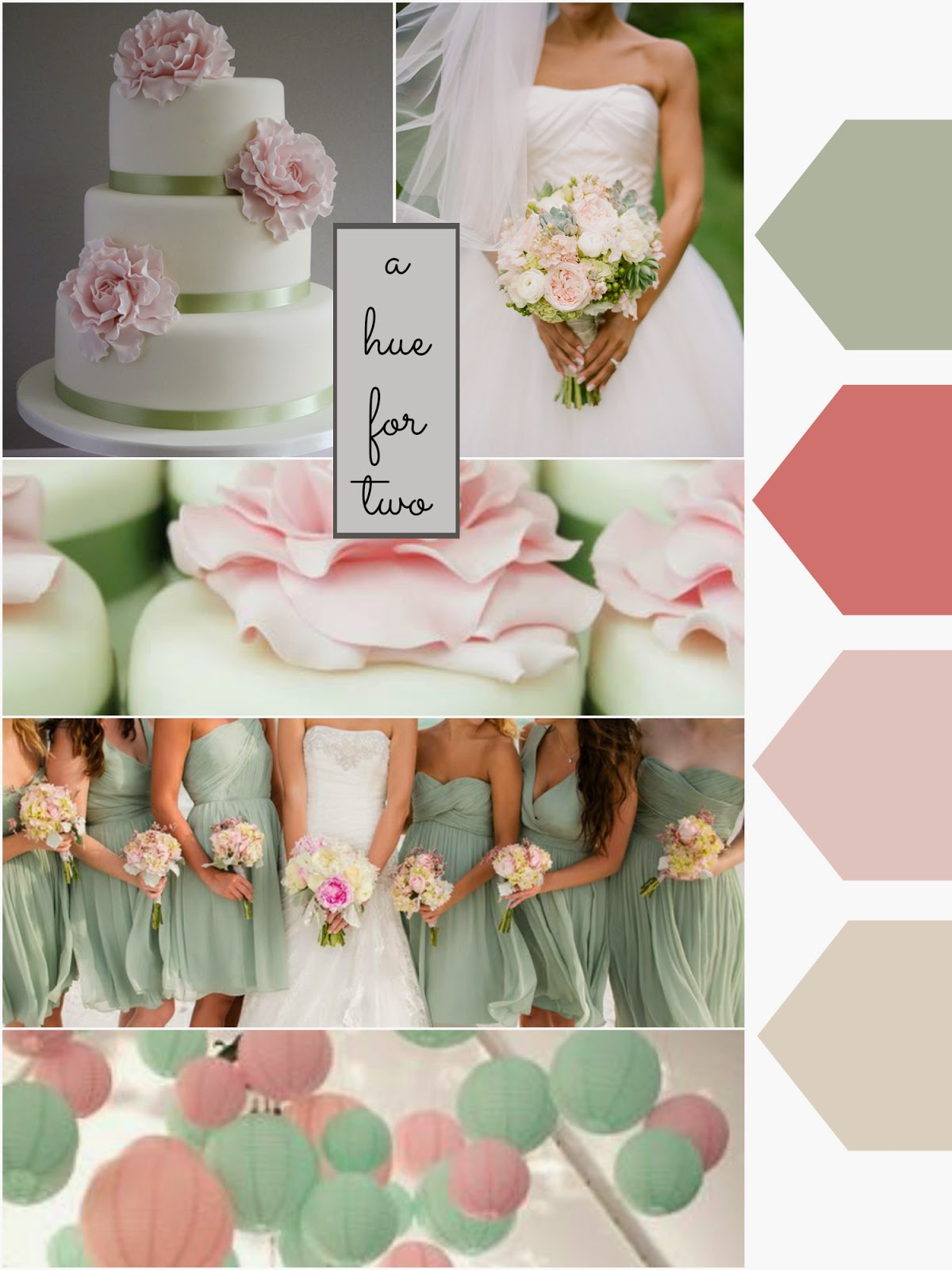 My Inspiration Behind This Colour Scheme Was Age Self I Incorporated Light Sage C And Pink To Create A Pastel Wedding Palette That Isn T