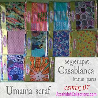 Segi Empat Umama Scarf Casablanca – AzzahidahCollections.com