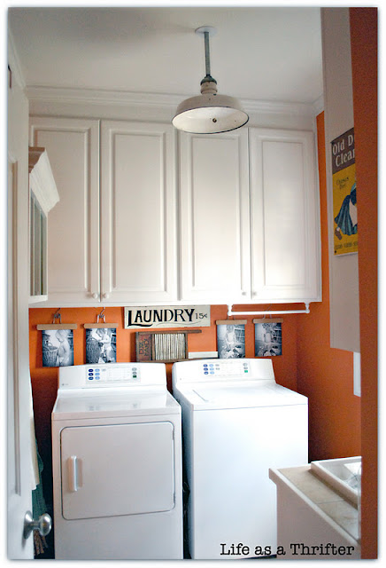 Orange Laundry Room Paint Color Marquis Orange by Sherwin Williams