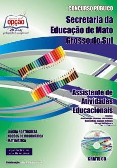Apostila Concurso Secretaria da Educação do (MS) SED MS 2013