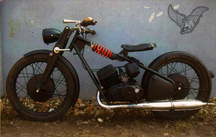 custom bobber motorcycle frames. Interesting Frames Certainly Is Bhinu0027 Man Canu0027t Find Much More About Csepel Motorcycles  Other Than They Were Built In Hungary From 1932 Until 1951 Throughout Custom Bobber Motorcycle Frames O